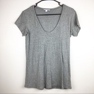 Standard James Perse Gray S/S Tee Size 1